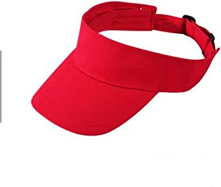 New Sun Visor Fashion Unisex Sunhat Golf Tennis Beach Adjustable Men Women Simple Cotton Summer Hats