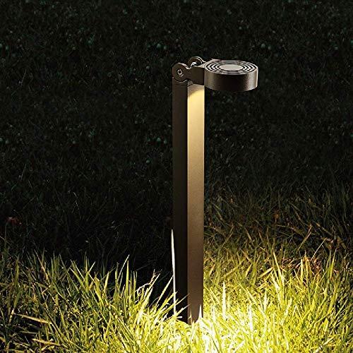 Moderno, Impermeable, al Aire Libre, luz LED para césped, Aluminio, Exterior, jardín, Poste, Pilar, lámpara, ángulo, Ajustable, Columna, lámpara, Poste Alto, Paisaje, iluminación, para, Villa, Gazebo