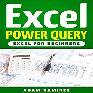 Excel Power Query: Excel for Beginners audiobook cover art