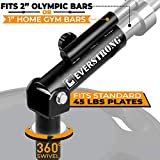 T Bar Row for One Inch and Two Inches - Olympic Bars Gym Equipment for Landmines Barbells Attachment...