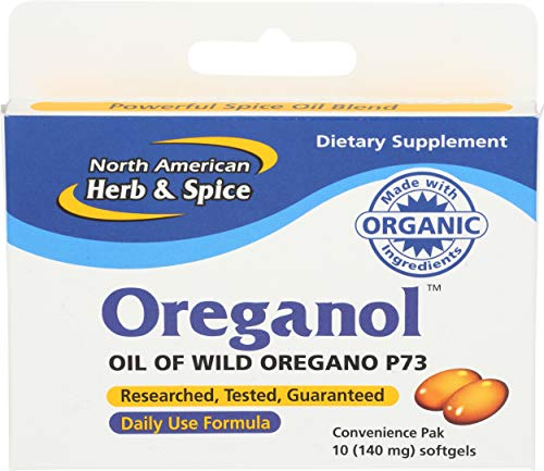 North American Herb & Spice Oreganol P73, Convenience Pack, 10 Count