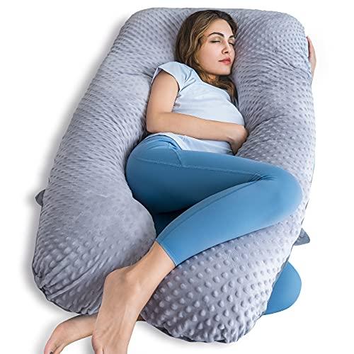 QUEEN ROSE Pregnancy Pillow, U Shaped Pregnancy...