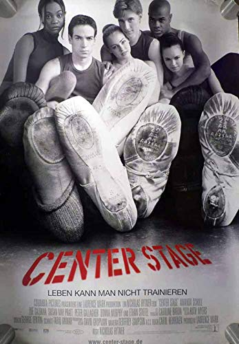 Center Stage - Ethan Stiefel - Zoe Saldana - Filmposter 120x80cm gerollt