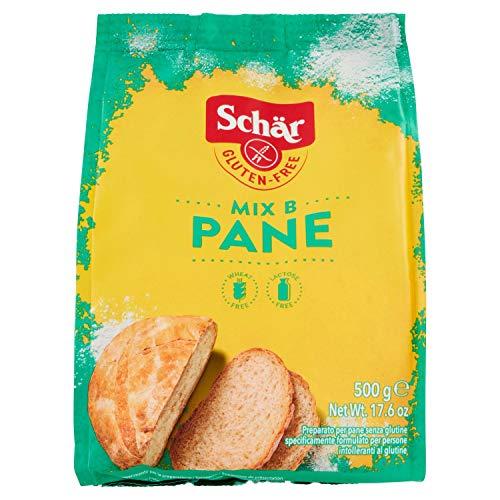 Schär Mix Pane, Mix B, Confezione da 10 x 500 g
