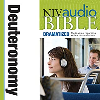 Dramatized Audio Bible - New International Version, NIV: (05) Deuteronomy audiobook cover art