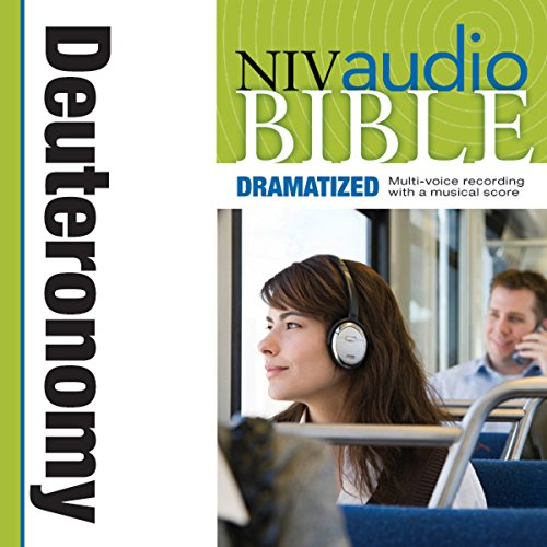 Dramatized Audio Bible - New International Version, NIV: (05) Deuteronomy  By  cover art
