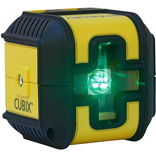 Stanley Cubix Cross Line - Nivel láser (rayo verde)