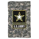 U.S. Army, Patch, Fleece Throw Blanket