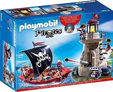 Playmobil 9522 Set Piratas, Multicolor Set Piratas, Multicolor multicolor , color/modelo surtido