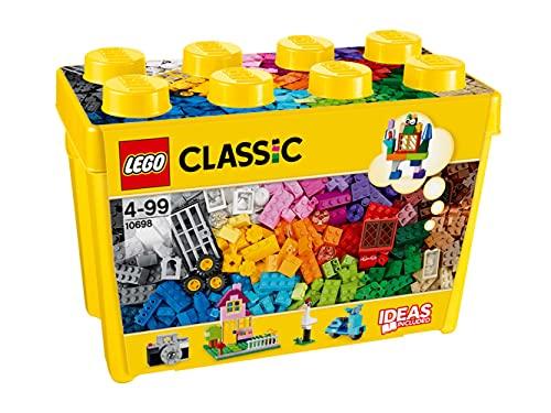 Lego 10698 Classic Große kreative Bausteine-Box, Aufbewahrungsbox, Bunte Bausteine für Lego Baumeister