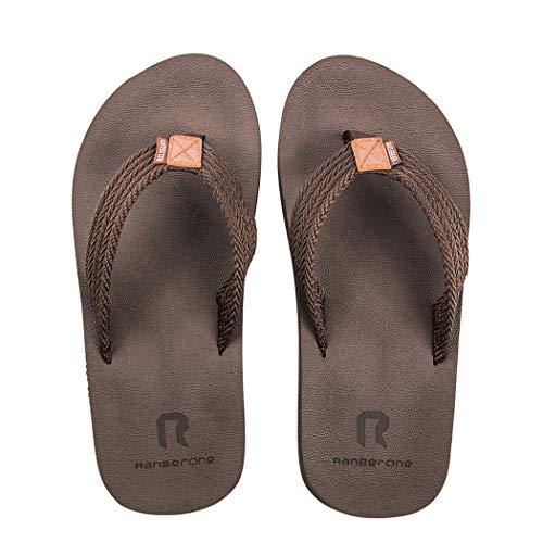 [Ducan] ビーチサンダル メンズ 滑り止め サンダル ベランダ 柔らかい ビーサン 島ぞうり 痛くない 室内履き アウトドア 25.0〜30.0センチ