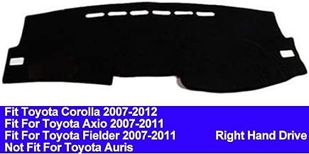 AUCD Car Dashboard Cover Dash Mat for Toyota Corolla Axio Fielder 2007 2008 2009 2010 2011 Auto Non-Slip Sun Shade Pad Carpet