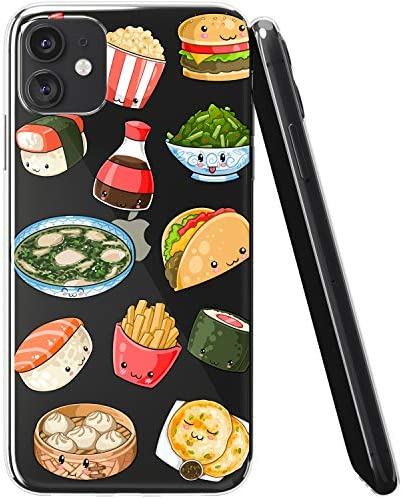 Vonna Phone Case Compatible with Apple iPhone 12 Pro Max 12 Mini 12 Pro 12 5G Sushi Soft Cute product image