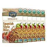 Lundberg Organic White Rice Entree, Spanish-Style, 5.5oz (6Count), Gluten-Free, Vegan, Usda Certified Organic, Non-Gmo Verified, Kosher; 20 Min Cook Time