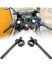 31/32/38/39/45/46/48/52/53/54/55 mm, manillar de aluminio CNC para Cafe Racer