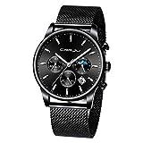 LUXISDE Women's Wrist Watches ABC Men's Watches Luxury Top Brand Quartz Chronograph Watch Fashion Sports 70 B