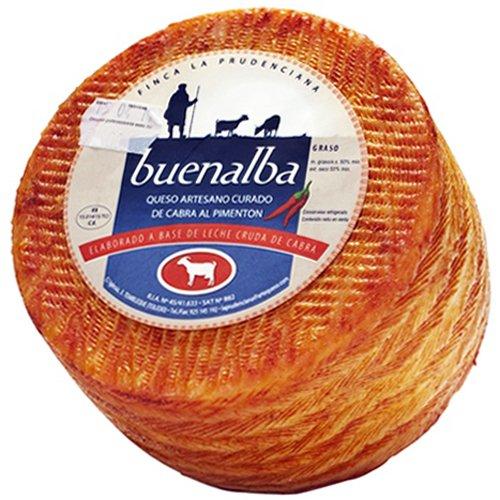 Formaggio di Capra Stagionato 'Paprika' (1 kg) - Buenalba