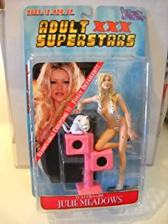 XXX Julie Meadows 7in. Action Figure w/ Removeable Clothes Costume Fully Detailed Action Figure Vivid Girls