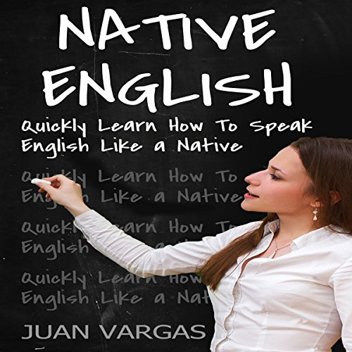 Native English audiobook cover art