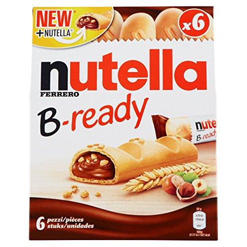 Nutella B-ready T6 - 4 confezioni da 6 pezzi