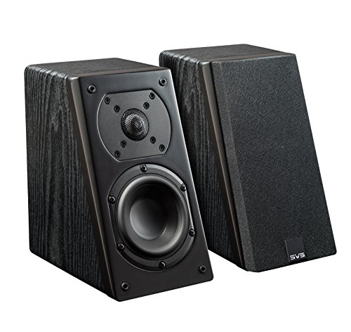 SVS Prime Elevation Speaker (Pair) - Premium Black Ash