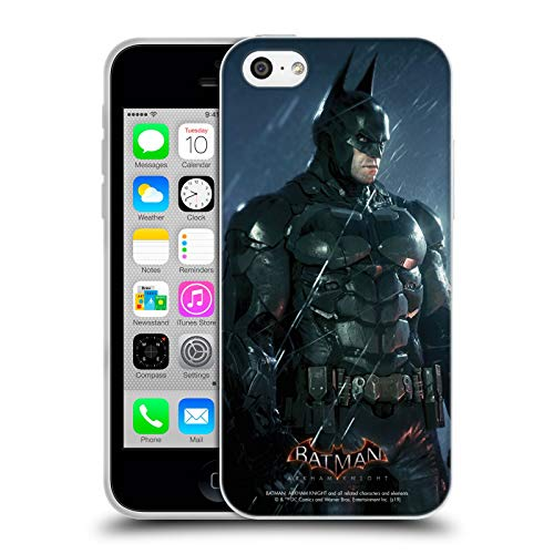 Head Case Designs Officiel Batman: Arkham Knight Batman Caractères Coque en Gel Doux Compatible avec iPhone 5c