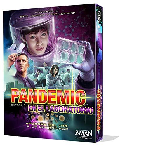 Z-man Games España- Pandemic: en el Laboratorio - Juego de Mesa, Color (ZM7112ES)