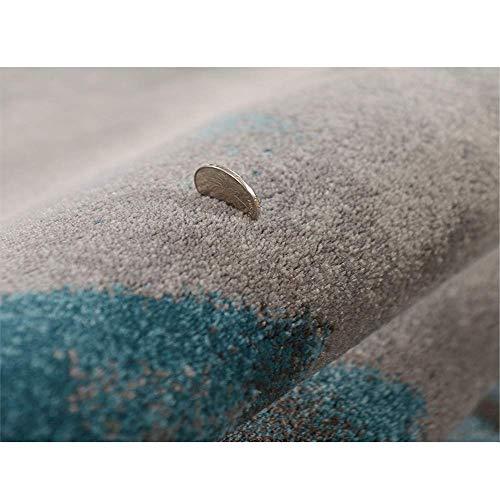 MJY Teppiche Licht Luxus Metall Wind Wohnzimmer Teppich Einfache Moderne Couchtisch Decke Schlafzimmer Bett Rechteckige Vier Farbe Optional Größe: 240 Cm * 340 Cm,Bach