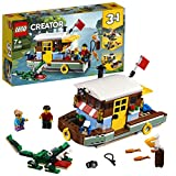 LEGO Creator - Casa Flotante del Río, juguete creativo de barco para construir (31093) , color/modelo surtido
