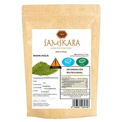 Moringa poeder natuurlijk | Moringa Natural | Samskara food for thought (250gr)