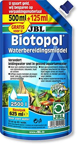 JBL Biotopol 625 ml navulverpakking Watervoorbereider voor zoetwateraquarium