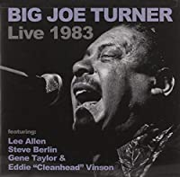 Big Joe Turner Live 1983