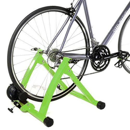 Stanz (TM) Indoor Bike Bicycle Trainer Exercise Stand for most 26'-28' or 700CC wheels