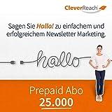 CleverReach Newsletter Software, Email Marketing Automation, Prepaid Abo 25.000,Web Browser, Monatliches Abonnement -