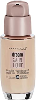 Maybelline Dream Satin Liquid Foundation, Classic Ivory, 1 Ounce