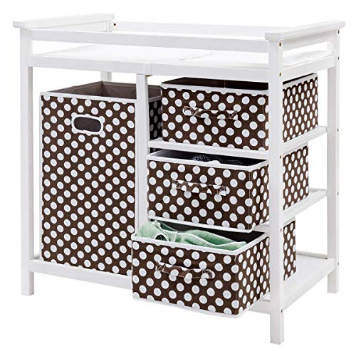 Product Image of the Costzon Baby Changing Table, Infant Diaper Changing Table Organization, Diaper...
