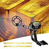 Meterk Portable Metal Seeker Gold Detectors LCD Display High Sensitivity Treasure Hunter Underground Metal Detector
