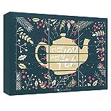 Tee-Adventskalender von FROG.coffee   Doppelter Genuss - 48 Teebeutel   Teekanne, ChariTea, Meßmer,...