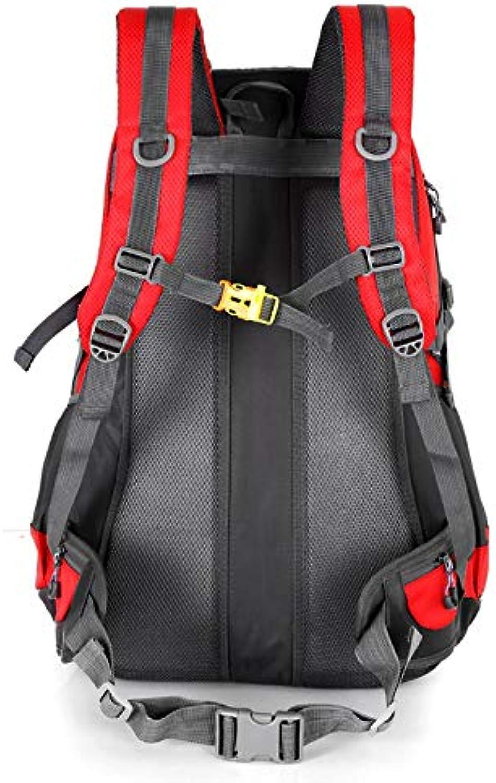 RQWY Rucksack Unisex Rucksack Travel Pack Sporttasche Pack 65l wasserdichte Outdoor Bergsteigen Wandern Klettern Rucksack
