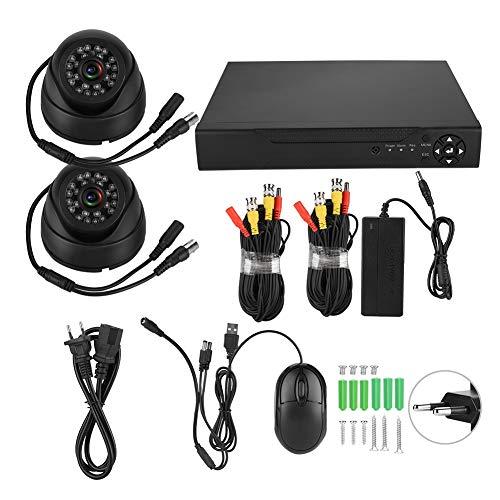 2CH ADH HD 200W1080P 5-IN-1 Sistema De Seguridad De Seguridad ONVIF Kit De DVR (100-240V Tell De La UE)
