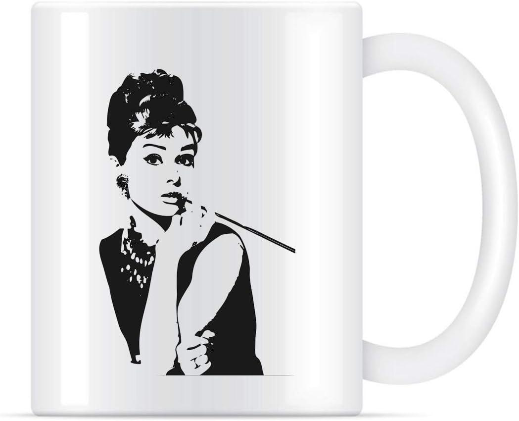 N\A Taza de café Scooter Pin Up Girl para Mujeres y Hombres, Tazas de té