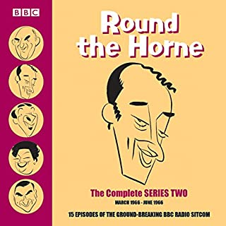 Round the Horne: Complete Series 2                   By:                                                                                                                                 Barry Took,                                                                                        Marty Feldman                               Narrated by:                                                                                                                                 full cast,                                                                                        Kenneth Williams,                                                                                        Kenneth Horne                      Length: 7 hrs and 48 mins     53 ratings     Overall 4.8