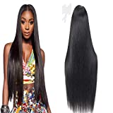 Lace Front Wig Human Hair Menschliches Haar 13x4 Straight Brazilian Remy Menschliches Haar Virgin Hair Unprocessed Natural Black Lace Frontal Wig Glueless Wig For Women Mit Baby Hair 20 Zoll