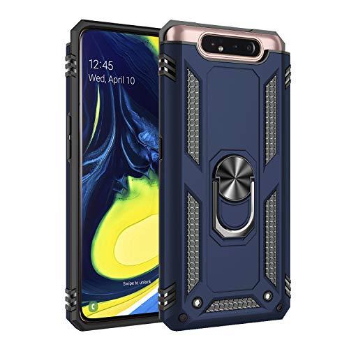 AFARER Hülle Kompatibel Mit Samsung Galaxy A80/Samsung Galaxy A90 Militärische Handyhülle Blau