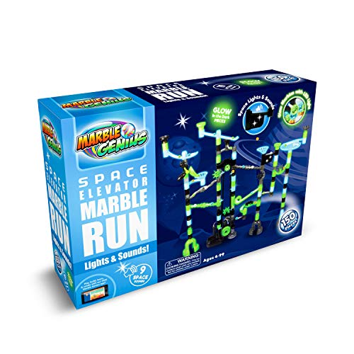 Space Elevator Marble Run with Glass...