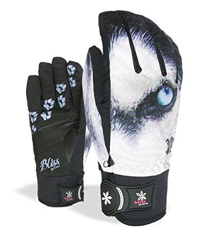 Level Damen Handschuhe Bliss Sweety Pipe, Light Blue, 7.5