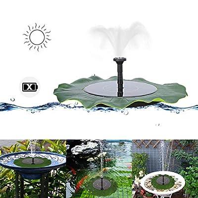 MASO Solar Pond Fountain Pump Solar Panel Powered Water Pump Floating Pump for Garden Pool Aquarium Fountain
