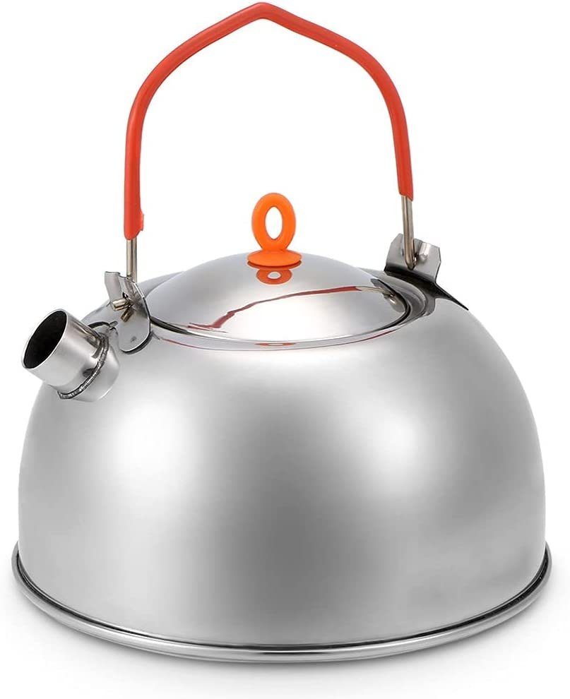 GLLP 0.6L Stainless Steel Ranking TOP18 Tea Portable Outdoor Kettle Free Shipping New Camping Hi