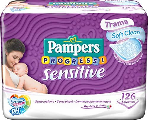 Pampers Sensitive Reinigungstücher - 126 Stück