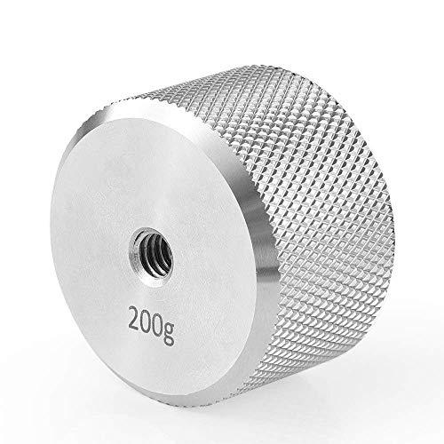 Cámara DSLR de acero inoxidable con contrapeso extraíble (200 g) Momento de equilibrio para DJI Ronin S y para soporte de cámara estabilizador de cardán Zhiyun